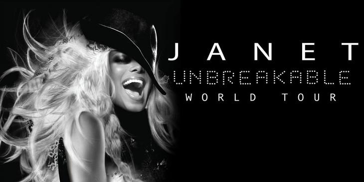 janet jackson unbreakable world tour