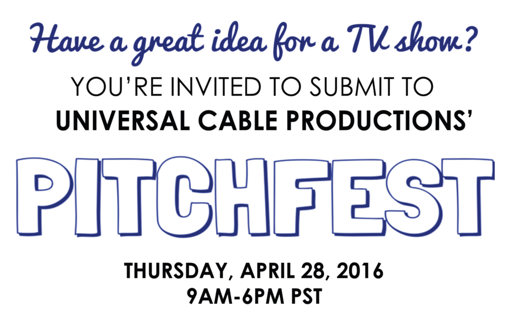 pitchfest-universal cable productions