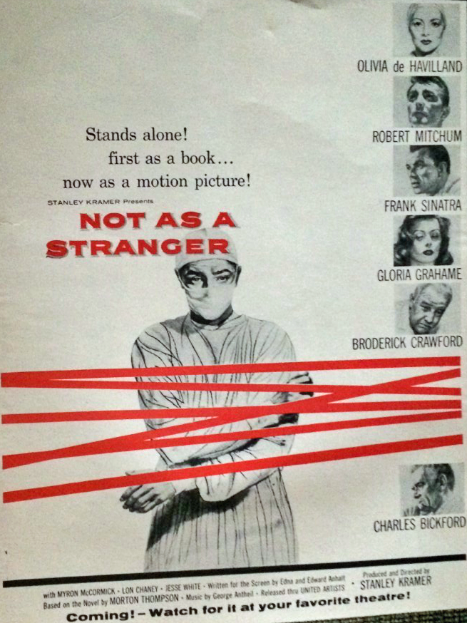 Not as a Stranger ad1