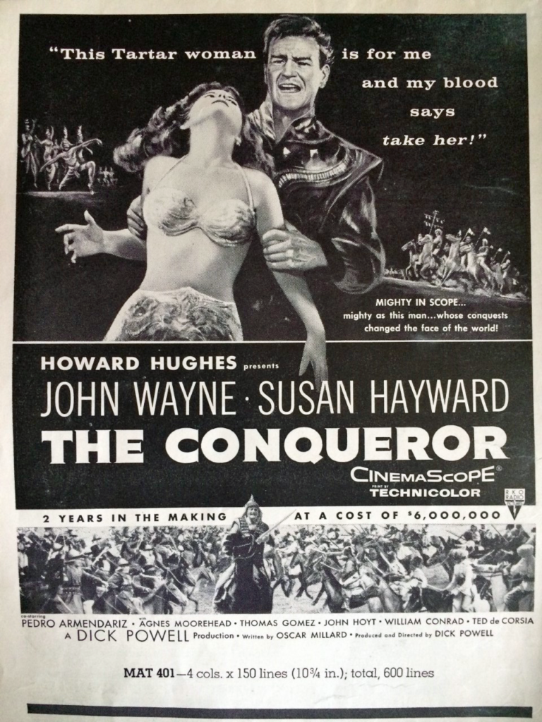 The Conqueror ad that was used1