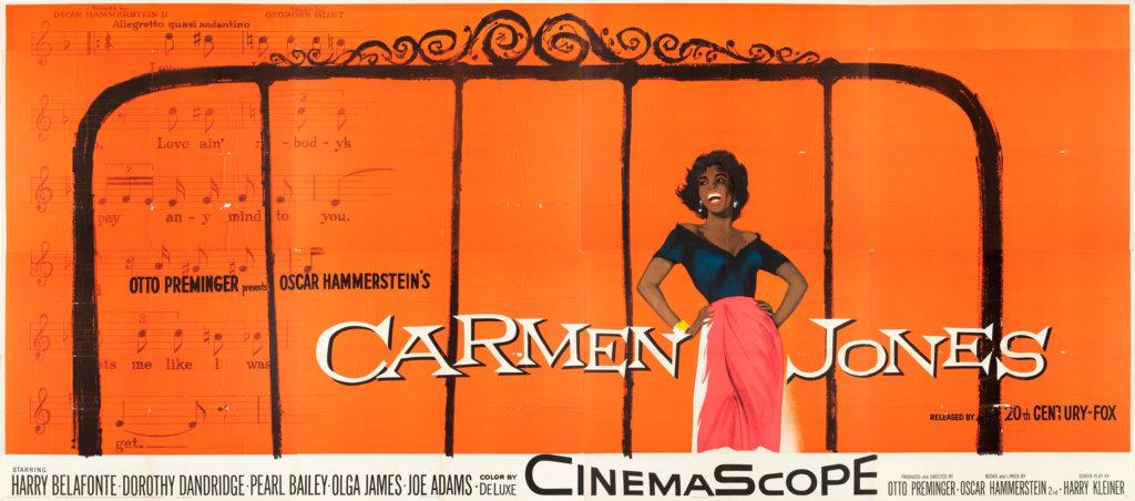 carmen jones 24-sheet