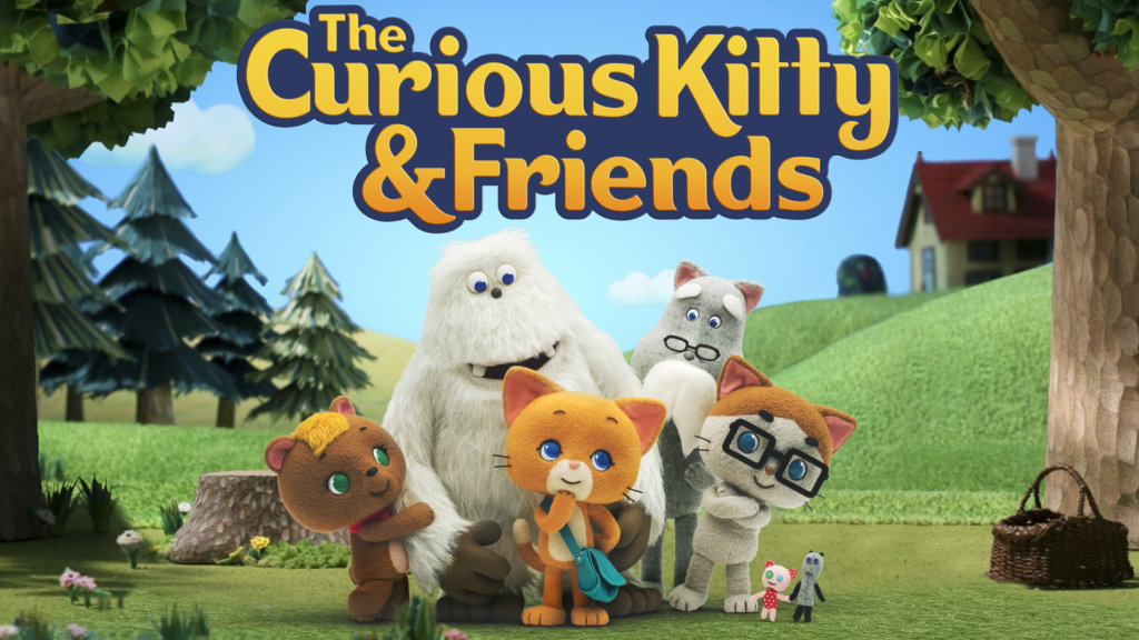 curious kitty & friends-amazon
