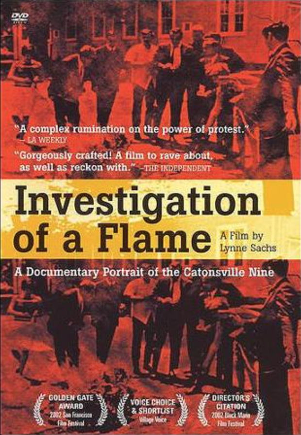 investigation of a flame-2003 documentary-dvd cover