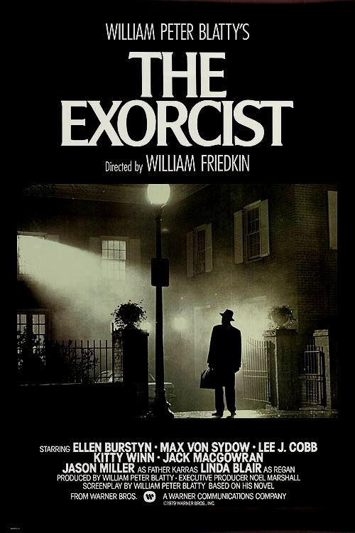 the exorcist movie poster 1973