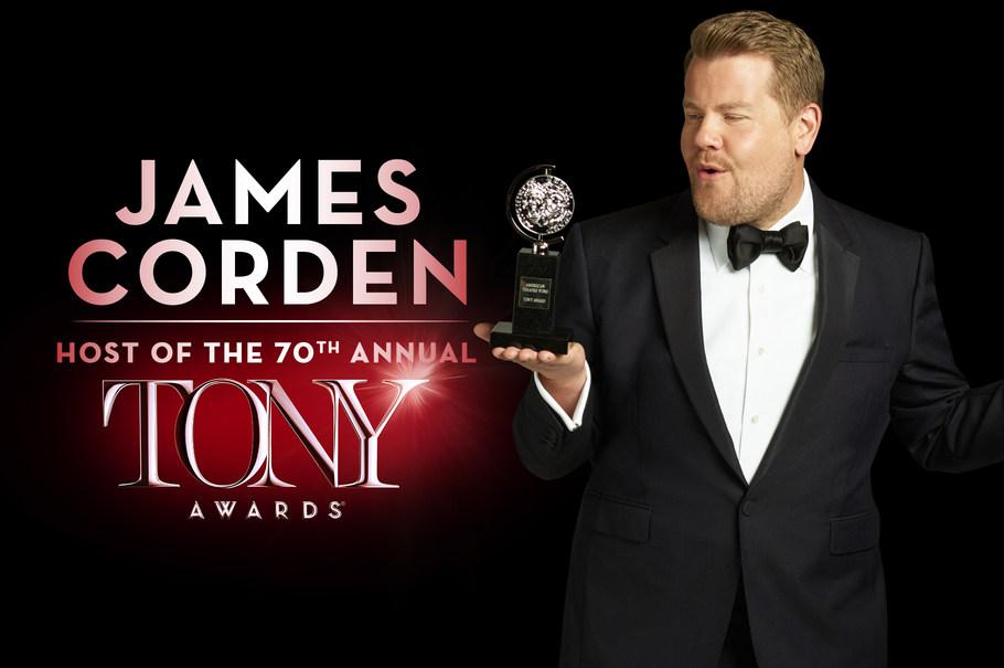 70th tony awards 2016-james corden