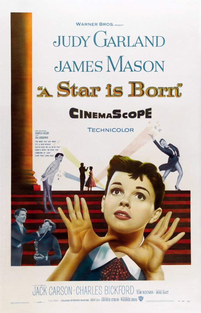 a star is born-1954-movie poster