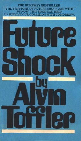 future shock alvin toffler book cover