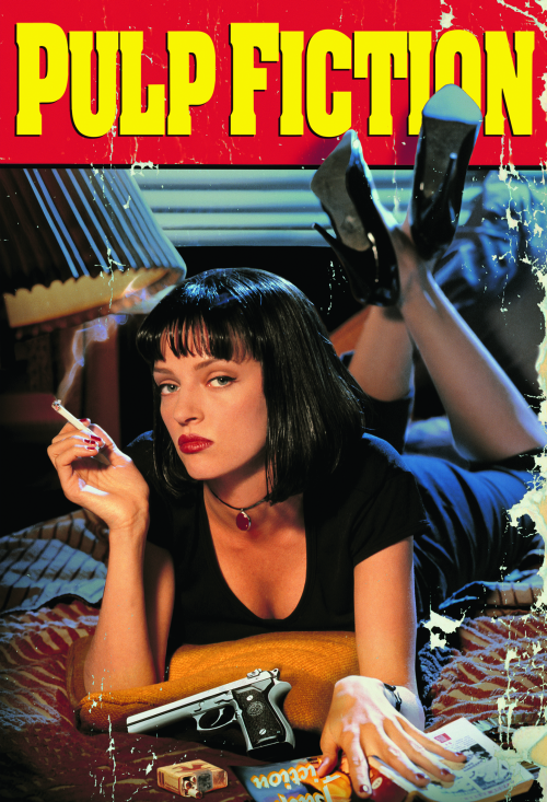 pulp fiction-uma thurman-poster