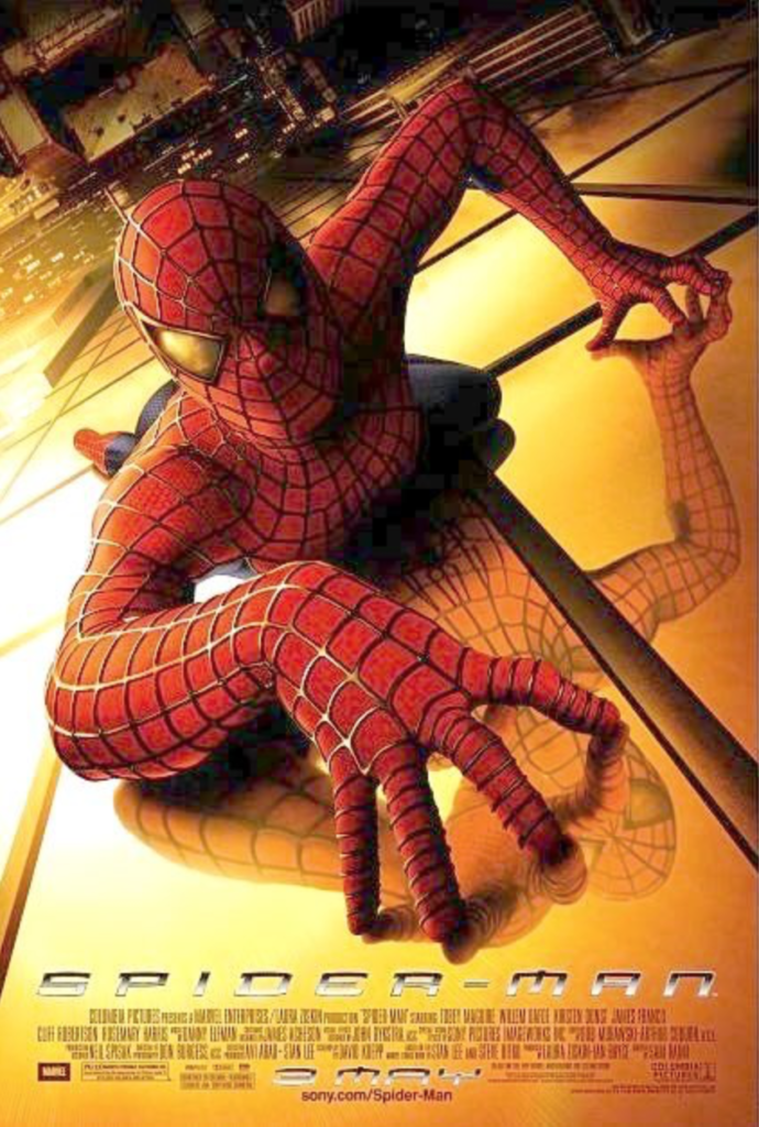 spider-man 2002 movie poster