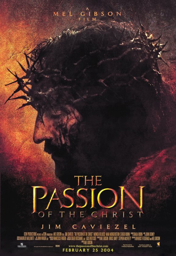 the passion of the christ movie poster 2004