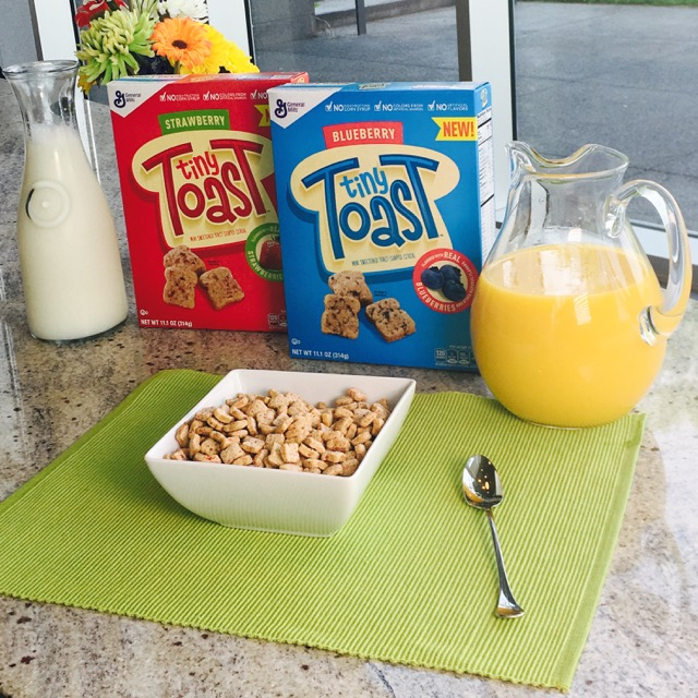 tiny toast cereal-general mills