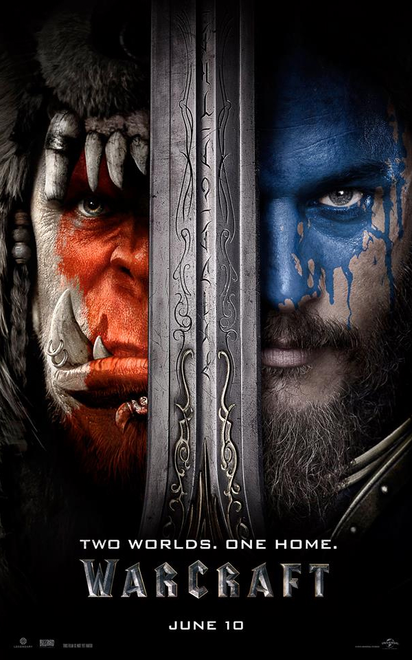 warcraft feature film 2016