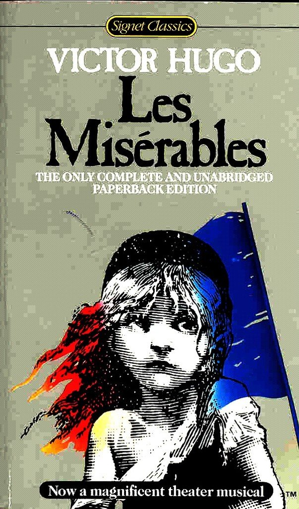 les miserables victor hugo book cover