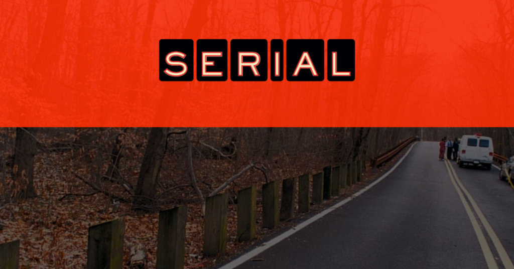 serial podcast logo season one