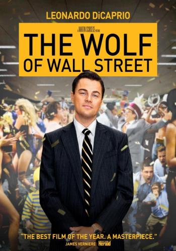 wolf of wall street-poster