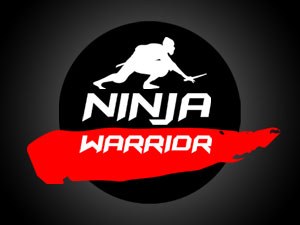 ninja warrior logo (sasuke)