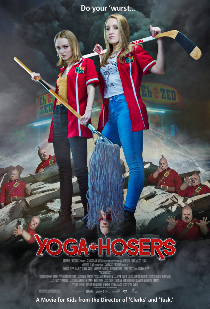 yoga hosers-poster