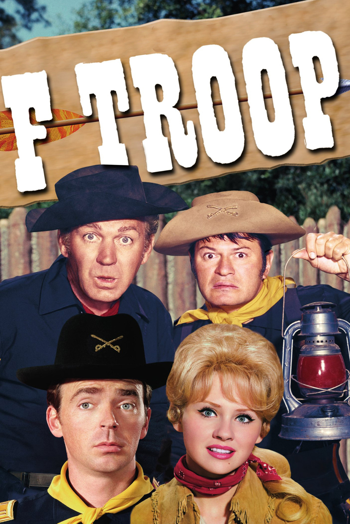 actor honored by the home town of his f troop character