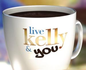 live with kelly & you coffee mug logo-Instagram