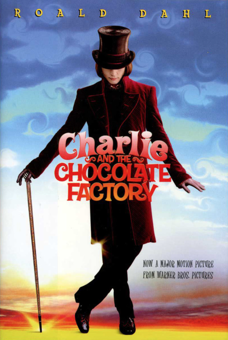 charlie-and-the-chocolate-factory-book-cover-with-movie-graphics