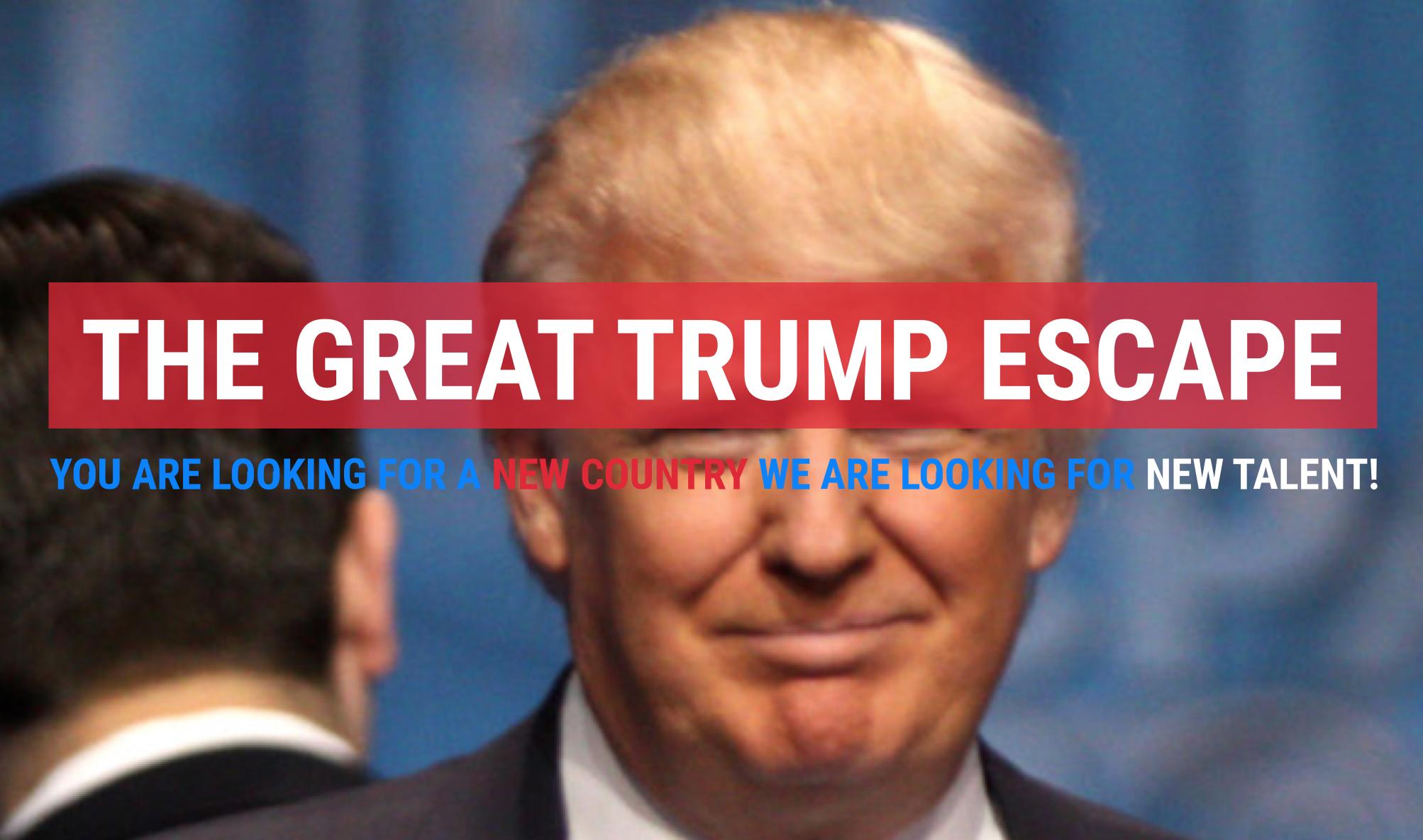 great-trump-escape-round-round-ad-agency