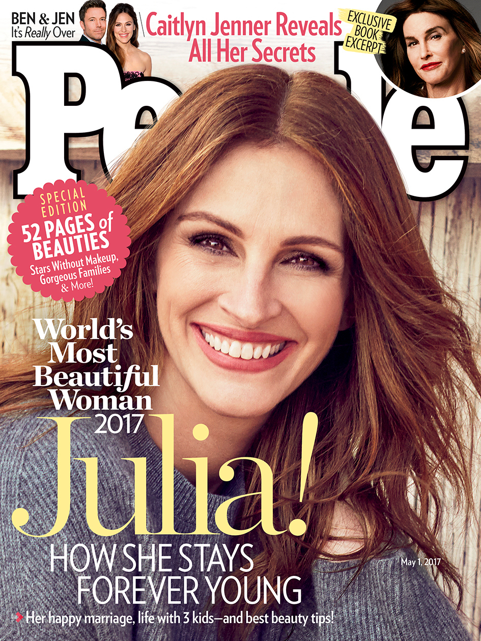 magazine most woman names actress julia roberts worlds again 2000 issue tvweek 2005