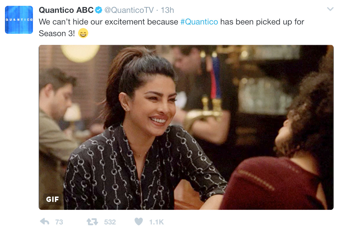 ABC Makes Its Mind Up About Quantico TVWeek - Unpopular railway puts 15 year old intern in charge of their twitter account he takes the internet by storm