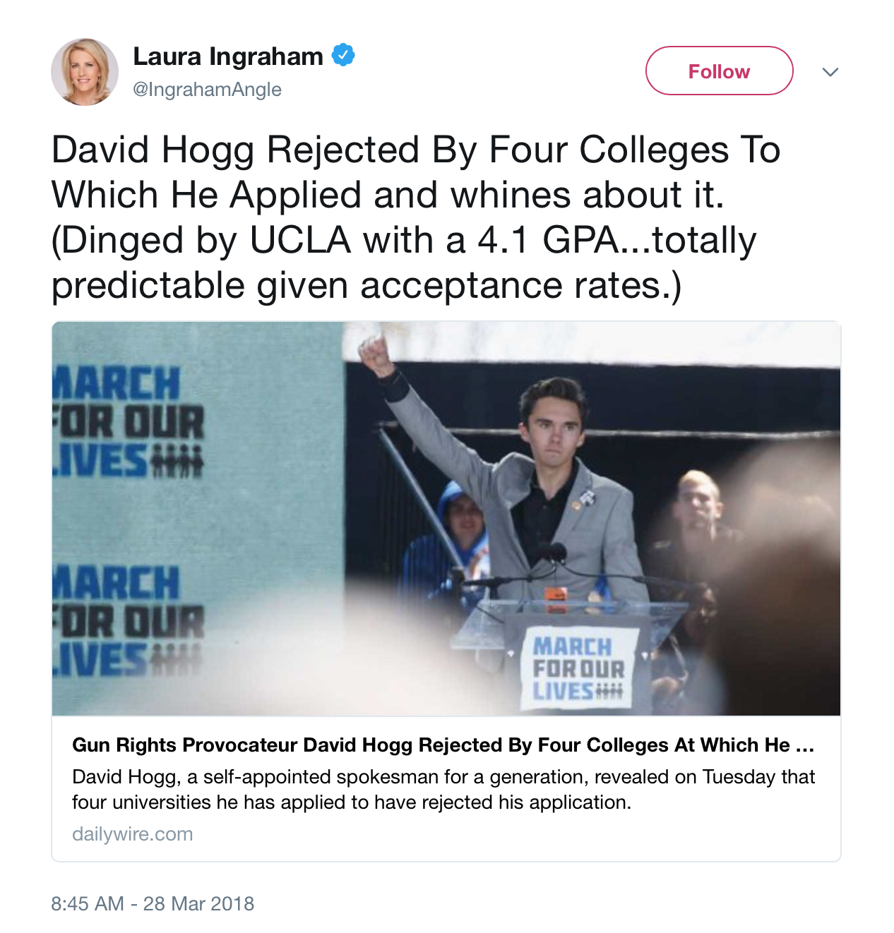 Wayfair pulling ads from Laura Ingraham's show